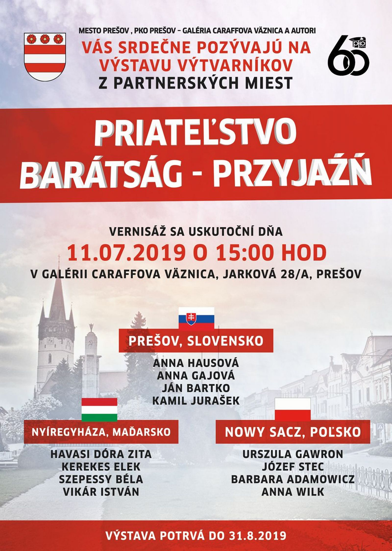 7c268c2fdd8fe Kalendár podujatí - GoPrešov.sk - Mestské informačné centrum v Prešove