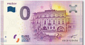 Euro Souvenir bankovka prichádza aj do PREŠOVA
