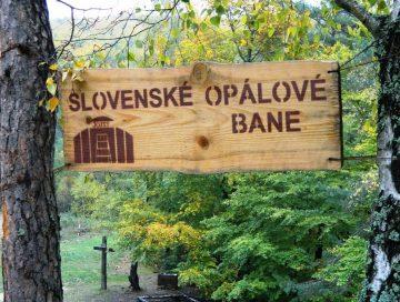 Slovenské opálové bane – banský skanzen na Šariši