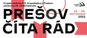 Literárnu jeseň odštartuje Prešov číta rád