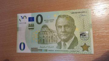 Prešov má novú MEMOEURO bankovku!